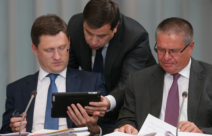 Александр Новак и Алексей Улюкаев