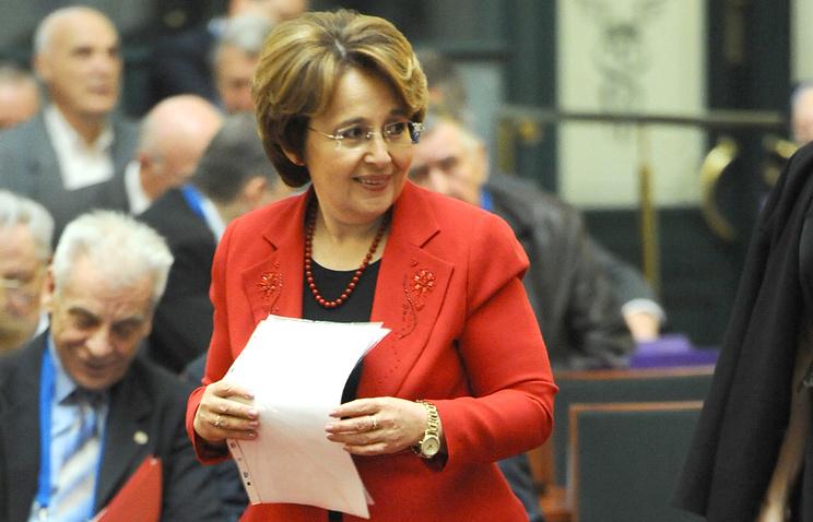 Первый заместитель председателя комитета Госдумы РФ по бюджету и налогам Оксана Дмитриева