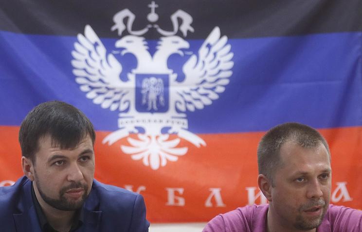 Денис Пушилин и Александр Бородай