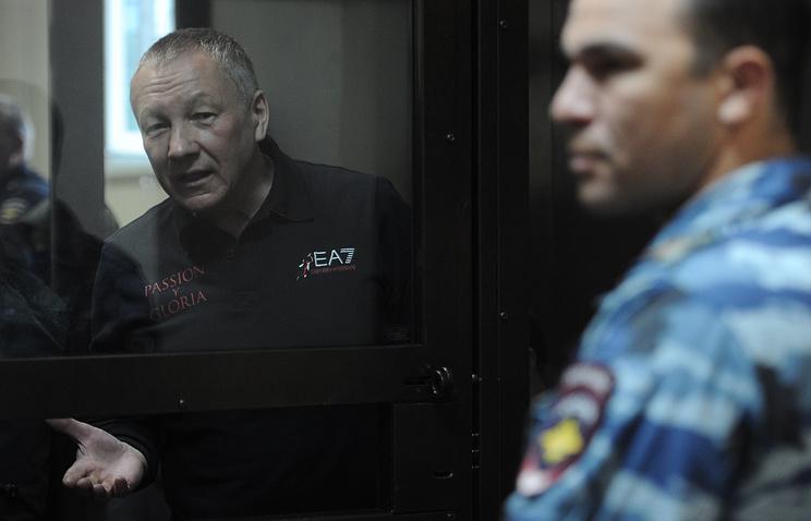 Бывший заместитель главы администрации Екатеринбурга Виктор Контеев во время оглашения приговора в Курганском областном суде