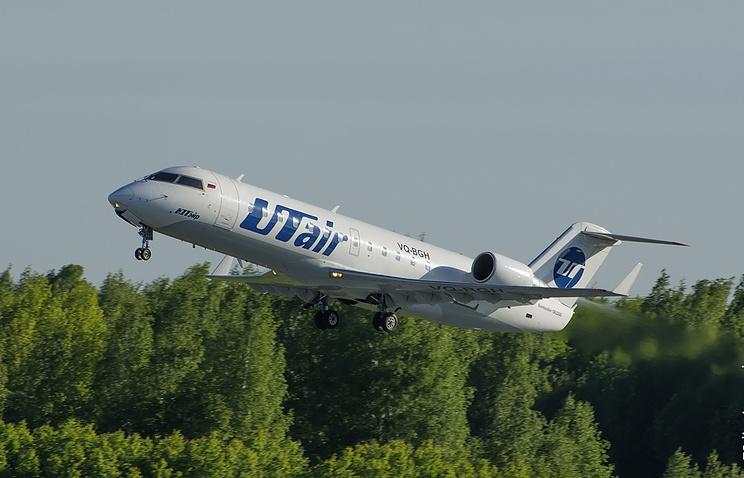 "Bombardier CRJ-200 авиакомпании ""ЮТэйр"""