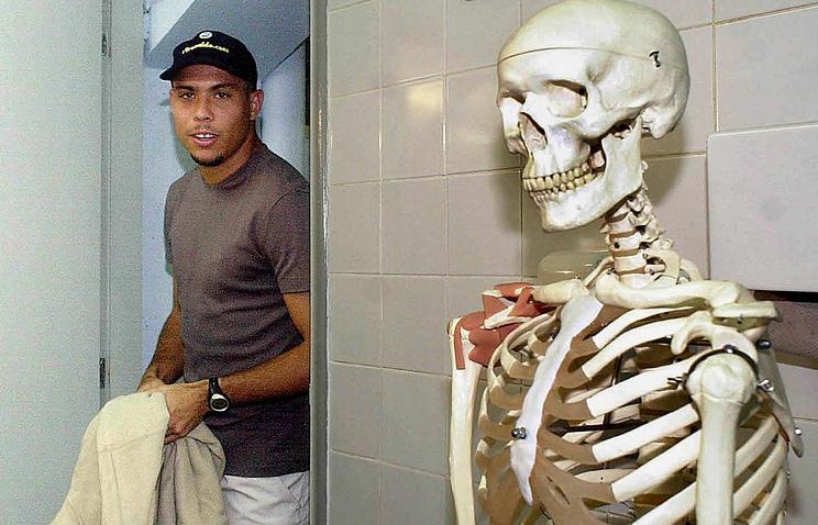 Роналдо на приеме у доктора