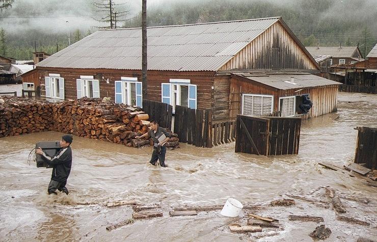 Паводок в Бурятии в 2001 году