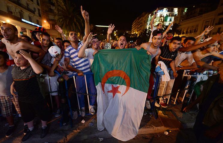 Болельщики сборной Алжира