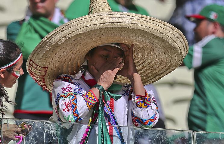Болельщик сборной Мексики