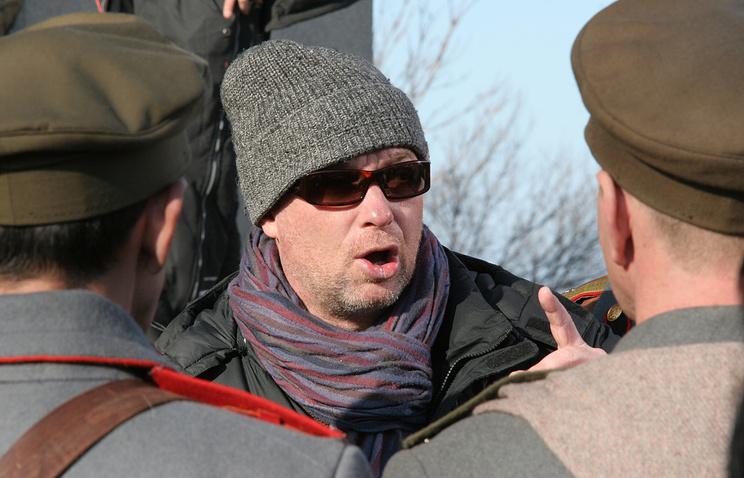Сергей Урсуляк на съемочной площадке, архивное фото