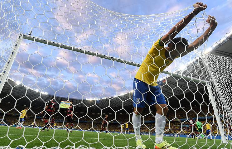 В полуфинале бразильцы потерпели самое крупное поражение за время выступлений на ЧМ