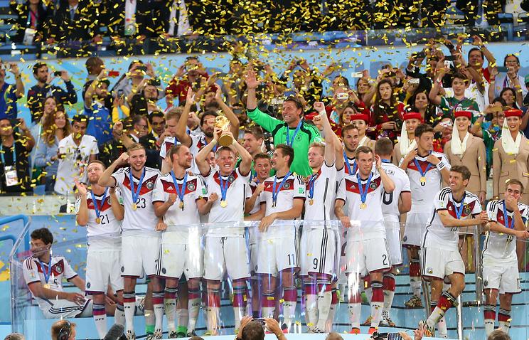 Сборная Германии по футболу - чемпион мира 2014 года