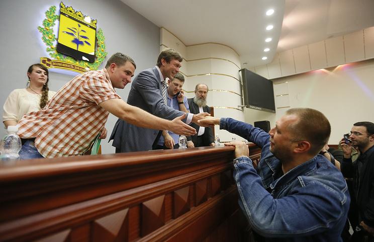 Олег Царев и Александр Бородай