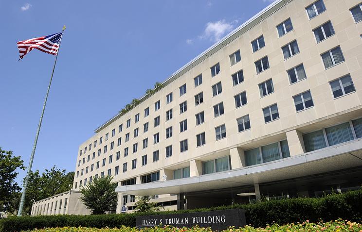 Одно из зданий комплекса Госдепартамента США в Вашингтоне