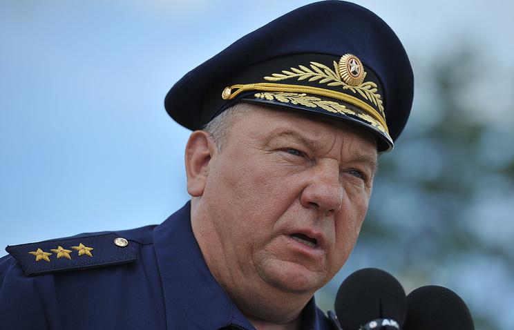 Командующий ВДВ генерал-полковник Владимир Шаманов