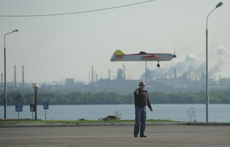Магнитогорск, этап кубка мира по авиамоделизму