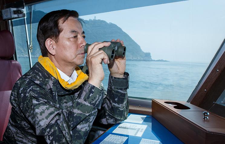Министр обороны Республики Корея Хан Мин Гу