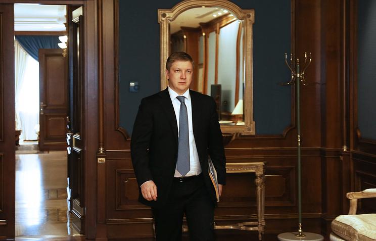 """Глава правления НАК """"Нафтогаз Украины"""" Андрей Коболев"""