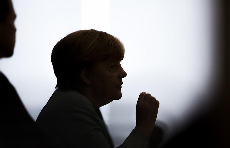 Канцлер Ангела Меркель