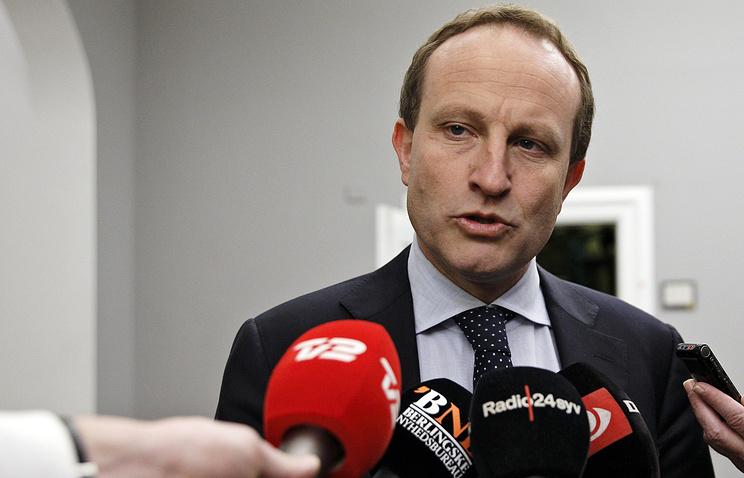Министр иностранных дел Дании Мартин Лидегор