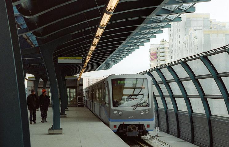 Легкое метро в Москве.