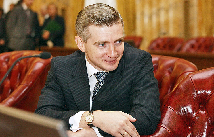 Руководитель столичного департамента культурного наследия Александр Кибовский