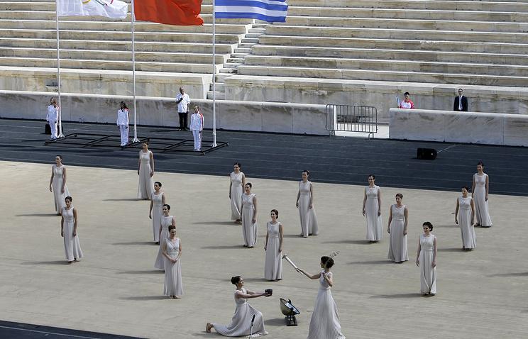 Открытие Юношеской Олимпиады в Нанкине