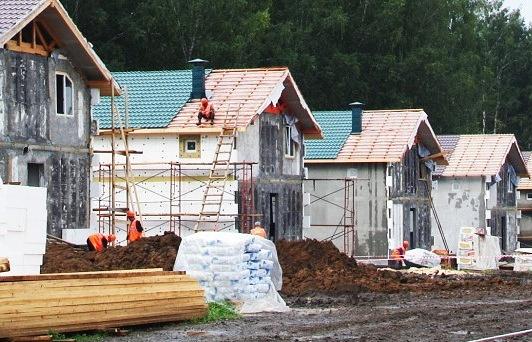 Строительство коттеджного посёлка в посёлке Кедровка