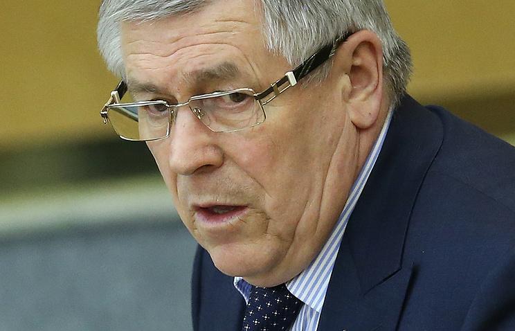 Заместитель председателя комитета ГД по безопасности и противодействию коррупции Эрнест Валеев