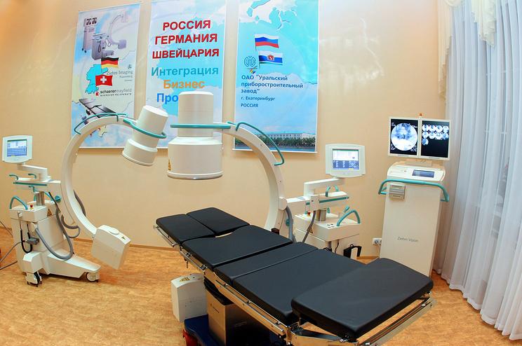 Медицинское оборудование на Уральском приборостроительном заводе