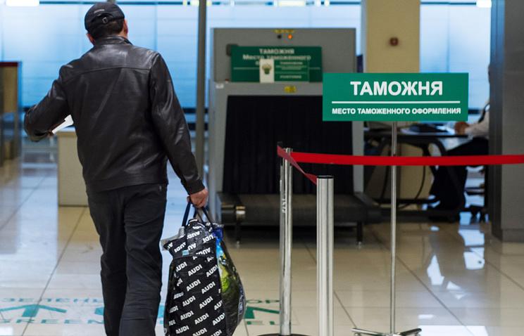 """В зоне таможенного контроля аэропорта """"Кольцово"""""""