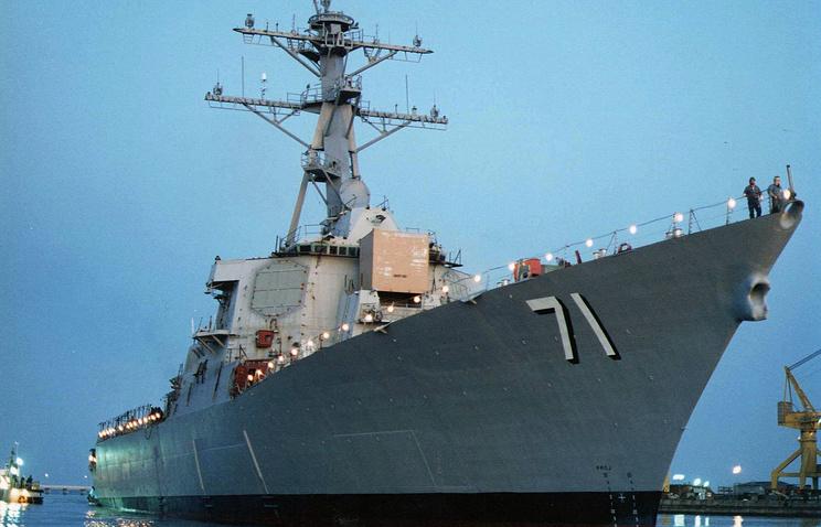 Фрегат военно-морских сил США Ross