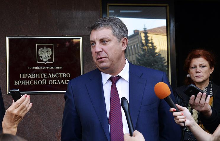 Временно исполняющий обязанности губернатора Брянской области Александр Богомаз