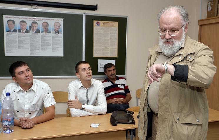 Председатель Центральной избирательной комиссии РФ Владимир Чуров