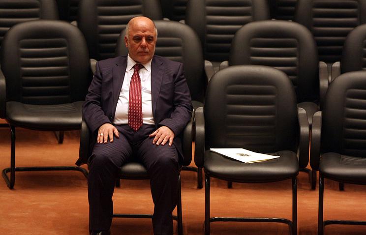 Глава правительства Ирака Хейдар аль-Абади