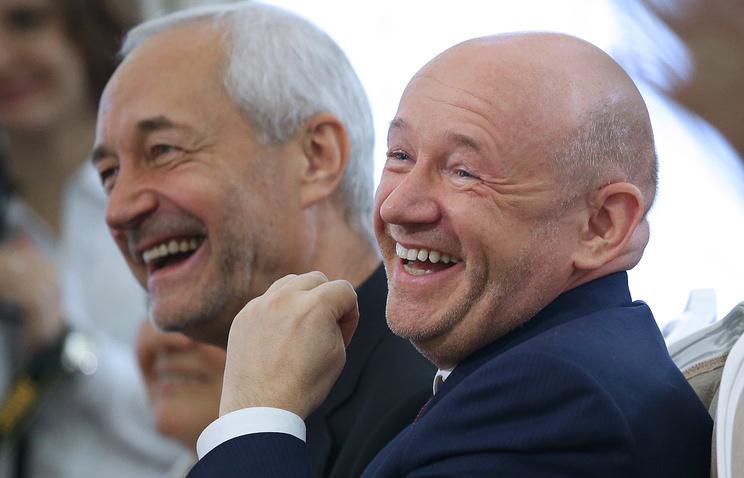 Актер Евгений Герасимов и Владимир Платонов (слева направо)