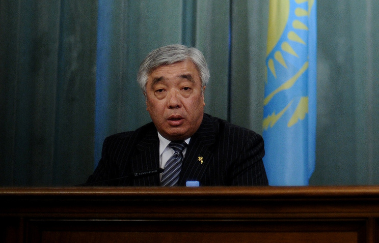 Глава МИД Казахстана Ерлан Идрисов