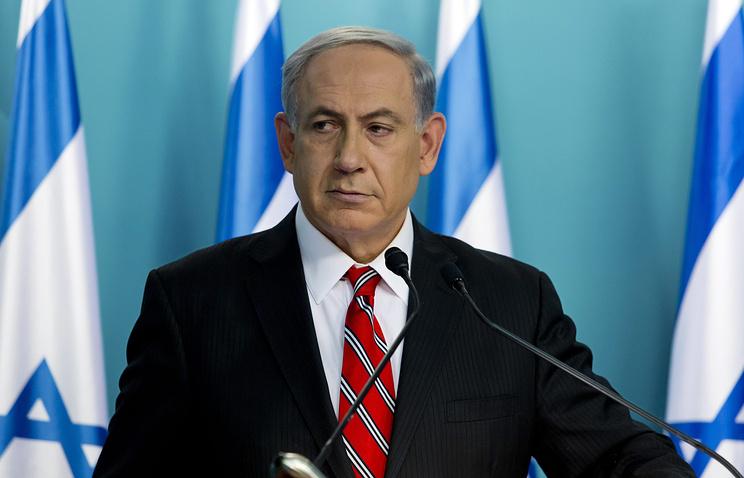 Премьер-министр Израиля Б.Нетаньяху