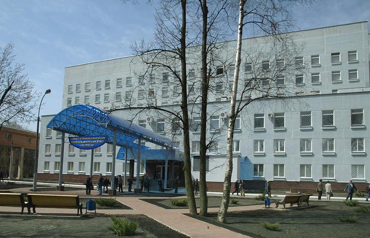 Здание Главного военного клинического госпиталя внутренних войск МВД РФ