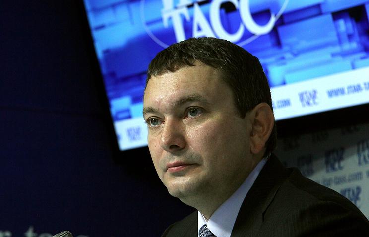 Врио заместителя губернатора области Кирилл Колончин
