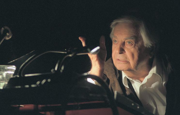 Юрий Любимов, 2002 год