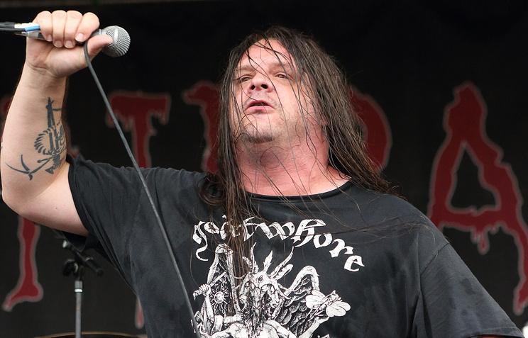 Вокалист группы Cannibal Corpse Джордж Фишер