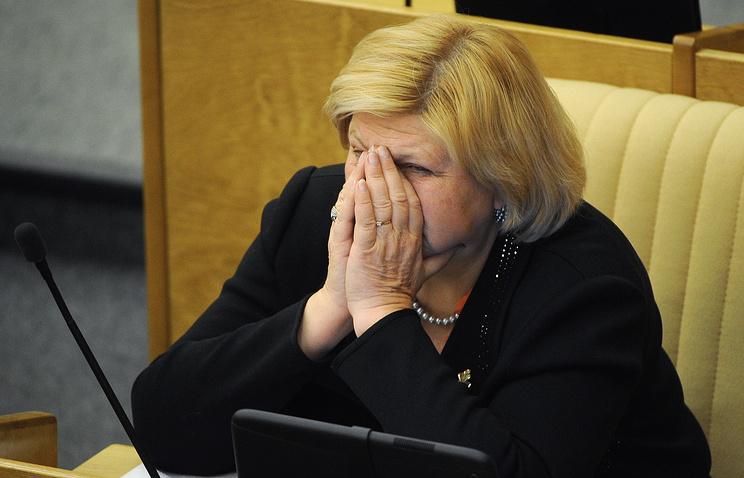 Первый заместитель председателя комитета Государственной Думы по культуре Елена Драпеко