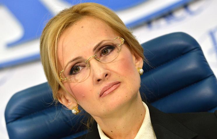 Председатель комитета по безопасности и противодействию коррупции Ирина Яровая