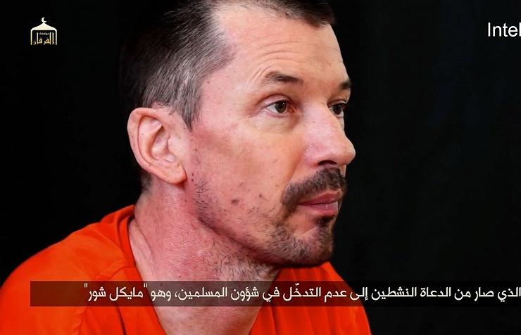 Похищенный журналист Джон Кантли