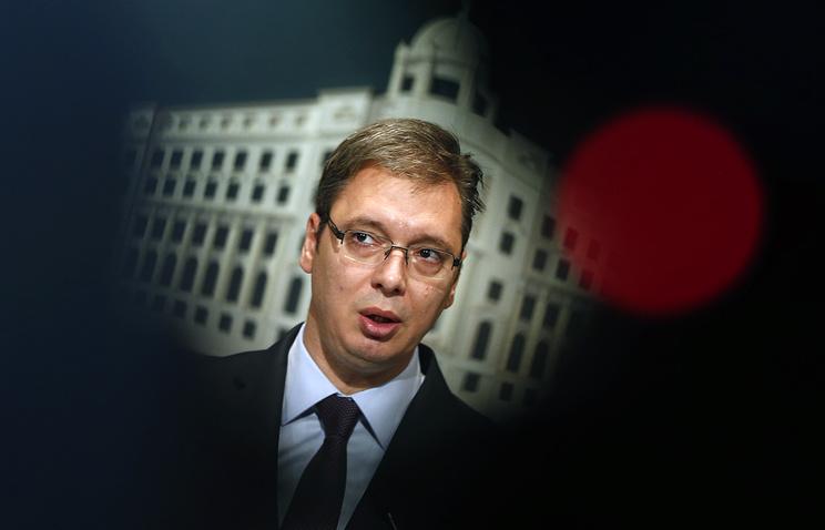 Премьер-министр Сербии Александар Вучич