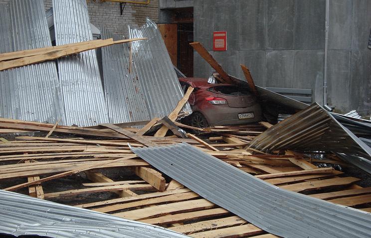 Последствия урагана в Томской области