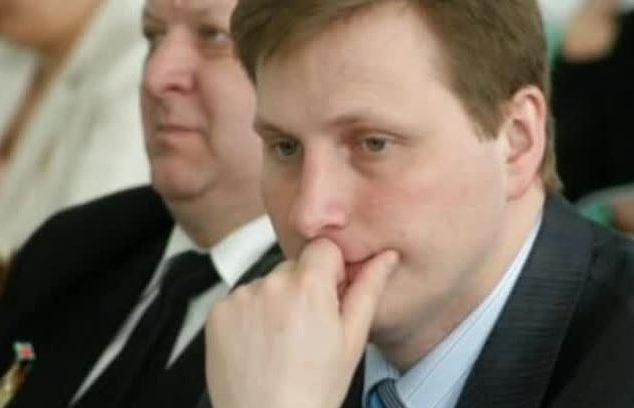 Александр Дмитриев (на переднем плане)