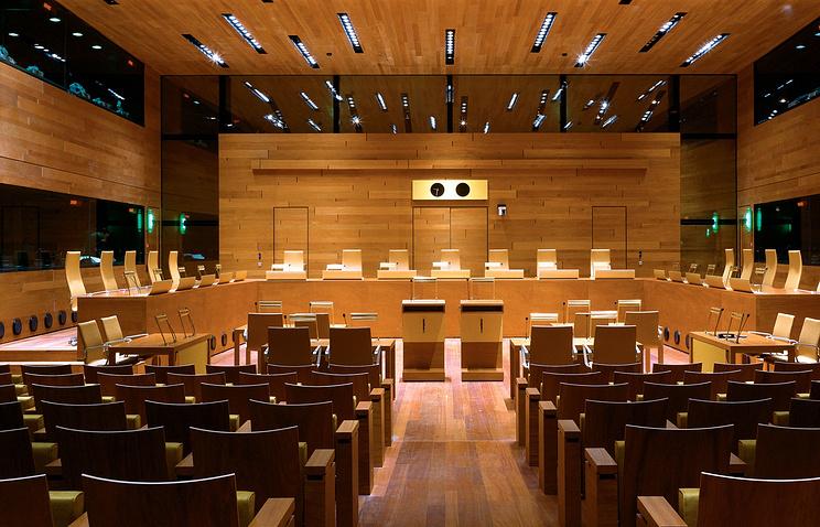 Один из залов суда Европейского союза