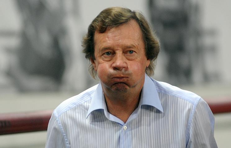 "Главный тренер ""Мордовии"" Юрий Семин"