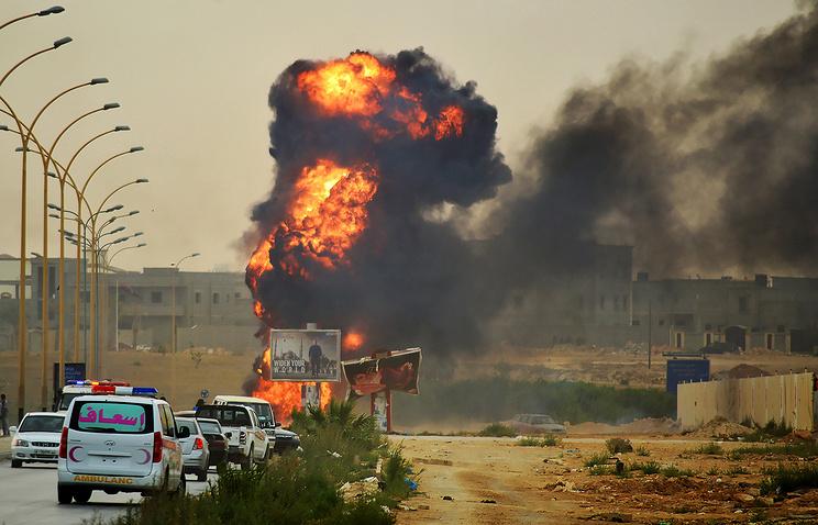 Вооруженные столкновения между ливийской армией и радикальными исламистами в Бенгази