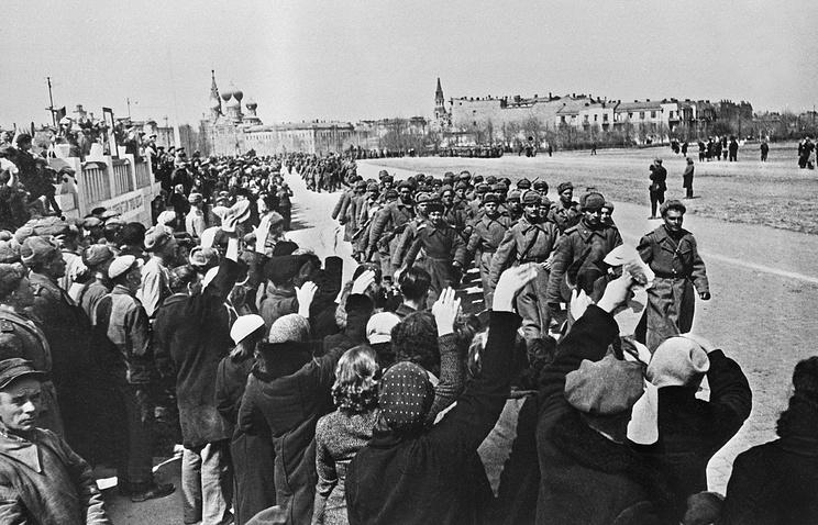 Одесса после освобождения. 1944 год
