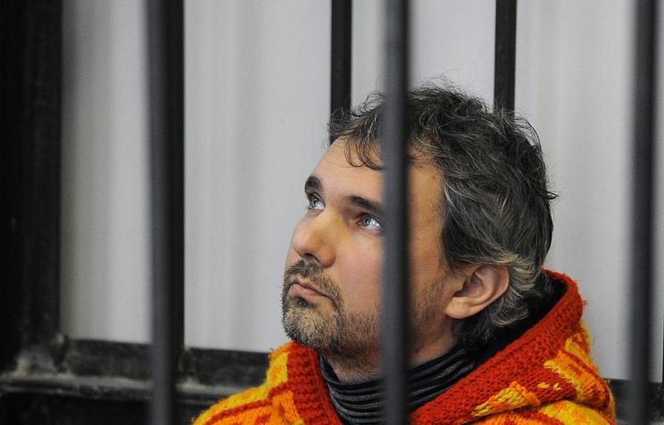 Дмитрий Лошагин во время рассмотрения уголовного дела в Октябрьском районном суде