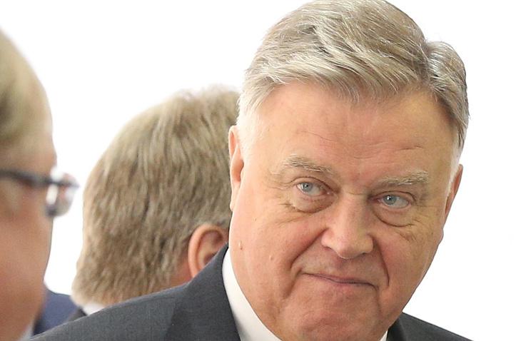 Член исполкома РФС, глава ОАО РЖД Владимир Якунин